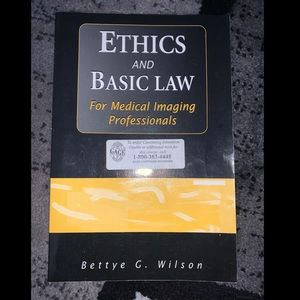 Other - Ethics and Basic Law Medical Imaging Professionals